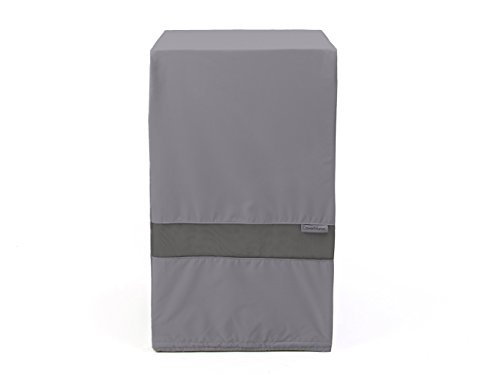 Covermates – Square Smoker Cover – 32W x 32D x 40H – Elite Collection – 3 YR Warranty – Year Around Protection - Charcoal