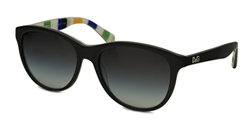 D&G DD3091 Sunglasses-27598G Black/Stripes (Gray Gradient - 2013 D&g Sunglasses