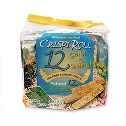 12 Grain & Seaweed Crispi Roll Snack 180g (Pack of 2)