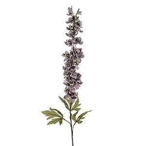 Floristrywarehouse Delphinium Artificial Silk Single Stem Grey 35 Inches 93