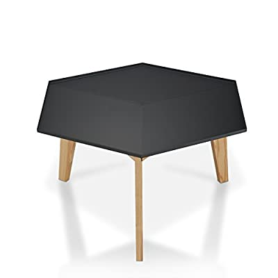 247SHOPATHOME FGI-17904C16 Adom Coffee Table, Gray - Geometric Coffee Table, One table only Solid Wood, Gray Made in Taiwan; 30 days limited replacements warranty - living-room-furniture, living-room, coffee-tables - 31PSApfxb6L. SS400  -