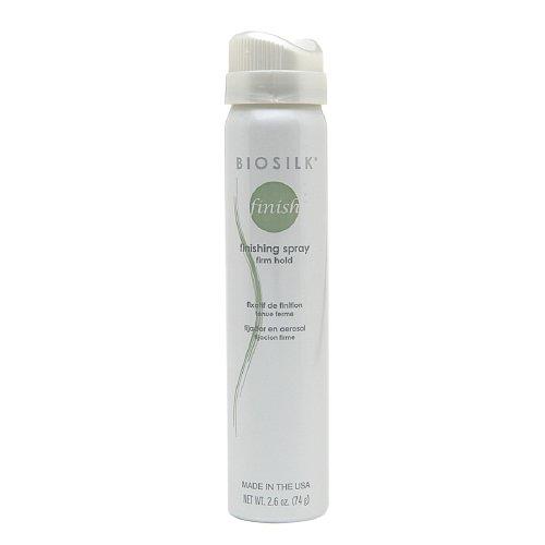 Biosilk Finishing Spray - Biosilk Finishing Spray Firm Hold Hair Spray for Unisex, 2.6 Ounce
