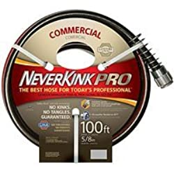 Teknor Apex Neverkink, 8844-100, PRO Water Hose, 5/8-in x 100-feet