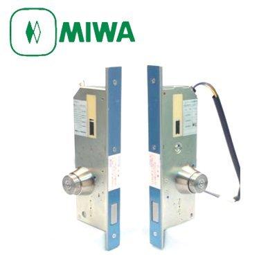 MIWA(美和ロック) AL3M-4 本締 電気錠 交換セット 両面シリンダー B00TJR14JG  扉厚:58~65mm バックセット:51mm/標準