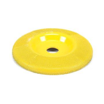SD450 5/8'' Bore 4'' Disc Wheel Fine Grit Yellow