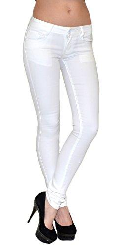 by-tex Jean Femme Skinny Bootcut Jeans Femmes Pantalon pour Bureau, Jean Femme Formelle pour Travail J07 Z33