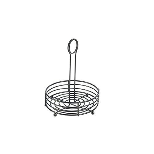 Genware nev-tc6-bk Draht Tisch Caddy, 16,5 cm X 8–5/20,3 cm schwarz ...