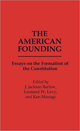 Essay On Science And Technology The American Founding Essays On The Formation Of The Constitution  Contributions In Political Science Example English Essay also What Is A Thesis Statement In A Essay Amazoncom The American Founding Essays On The Formation Of The  How To Write Essay Proposal