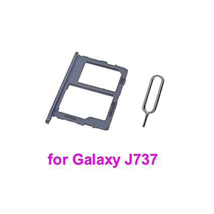 PHONSUN SIM Card Tray for Samsung Galaxy J737A J737V J737T J737P J737 (Blue)
