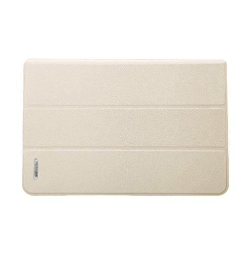 YiJee PU Cuero Shell Duro de Clip Snap para Macbook Air 11.6/13.3 Pulgadas 11.6 Inch Beige