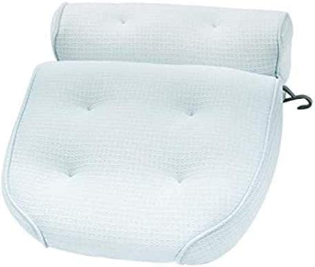 YXHMJP バス枕、サクションカップ、人間工学に基づいて設計浴槽ジャグジーソフトヘッドレスト、頭頸部バックショルダーサポート、バブルバスのためのリラクゼーション