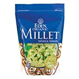 Eden EDEN Millet, Whole Grain,16 oz Pouches, 12 pk