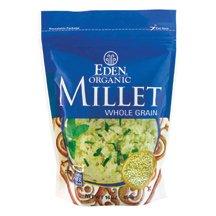 Eden EDEN Millet, Whole Grain,16 oz Pouches, 12 pk