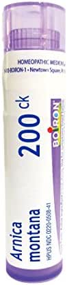 Boiron Arnica montana 200CK 80 Pellets Homeopathic Medicine for Pain Relief