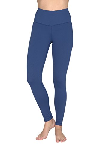 64c2e5f94c Galleon - 90 Degree By Reflex - High Waist Powerflex Legging - Tummy  Control - Spring Navy - XS