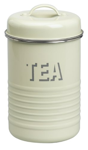 UPC 881448390010, Typhoon Vintage Kitchen Tea Caddy, Cream
