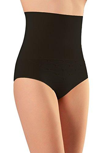 NBB Women's Seamless Hi-Waist Tummy Control Body Shaper Slimming Shapewear Pants Black Medium