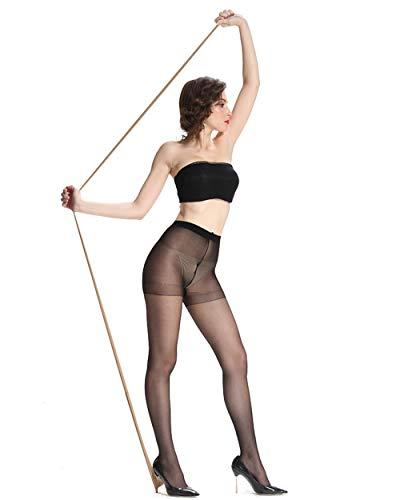 26d0521f8 Sheer Pantyhose for Women 3 Pairs Durable and Comfortable Stockings No Run  Pantyhose Socks Diy Dutting