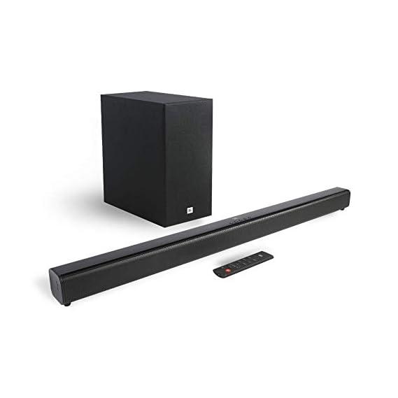 JBL Cinema SB261 2.1 Channel Soundbar with Wireless Subwoofer (220 Watts, Dolby Digital, Extra Deep Bass)