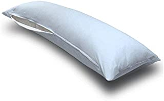 product image for SheetWorld Butter Soft 100% Cotton Jersey Knit Body Pillow Case - Baby Blue - Made In USA