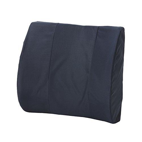 HealthSmart Standard Lumbar Cushion with Strap Navy by HealthSmart ()