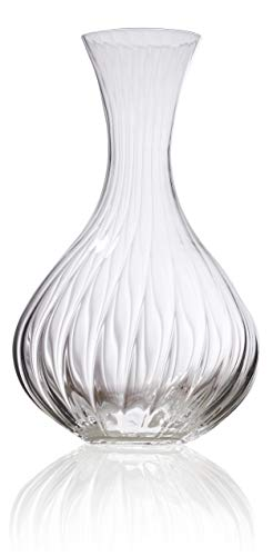 Wine Decanter - Superior Brilliance Crystal Wine Carafe - Waterfall Edition - 50 -
