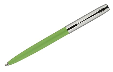 2ce0cbbb9ce Amazon.com   FISHER SPACE PEN CAP-O-MATIC - CHROME CAP GREEN BARREL CHROME  CLIP   Office Products