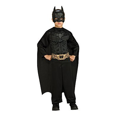 Rubies Batman Dark Knight Action Suit Child Size 8 to 10 -