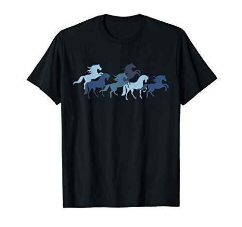 - DreamWorks Spirit Riding Free Running Horses T-shirt