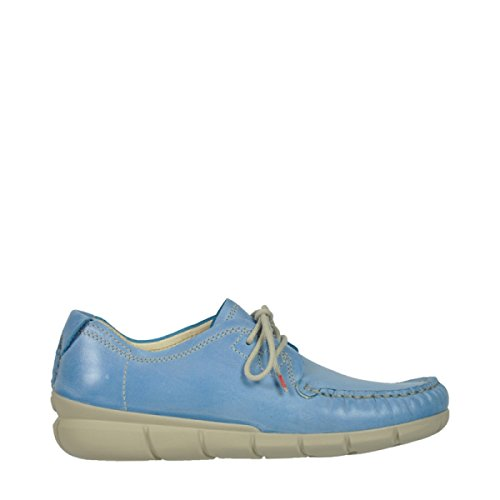 Pizzo Scarpe In Tunica Al In 30850 Pietra Comfort Blu Wolky Pelle R654T6nwq
