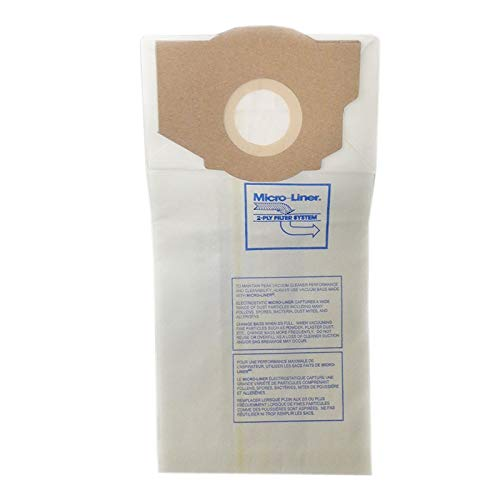 DVC Products Replacement Vacuum Bag for Eureka RR Micro-Lined Pack of - Micro Filtration Rr
