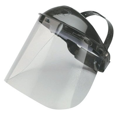 Jackson Safety Model K Clear General Purpose Face Shield & Headgear Set - Ratchet Adjustment - 14382 [PRICE is per EACH]