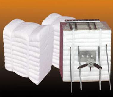 KT Refractories Ceramic Fiber Module 2600F 12''X12''X8''. by KT Refractories