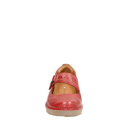 Clarks Womens Un.Briarcrest Flats Shoes Red kYTtrz