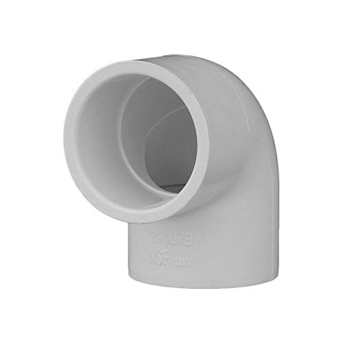 Charlotte Pipe 1 SCH. 40/90 Deg Ell Sxs Contract Pack PVC Pressure (10 Unit Pack)