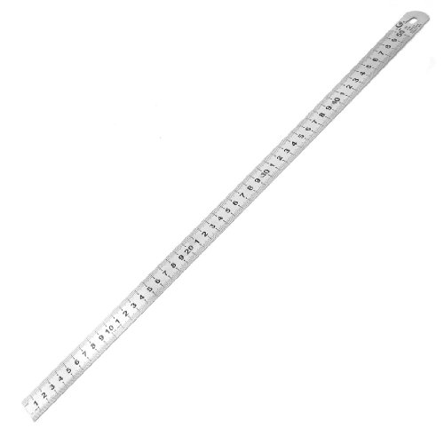 UPC 700955595612, Uxcell Stainless Steel Students 50cm Double Side Measurement Ruler