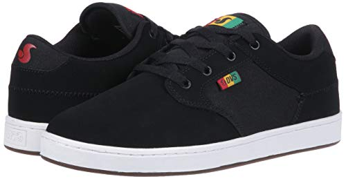 Pictures of DVS Men's Quentin Skate Shoe Black Wax Canvas 4