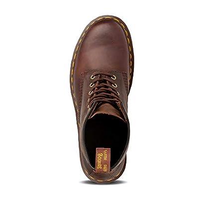 Dr. Martens Unisex-Adult 1460 Lace-Up Boots Brown (Gaucho Crazyhorse 203), 6 UK (39 EU) 3