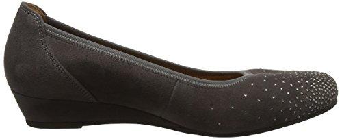 Gabor Women's Comfort Sport Closed Toe Ballet Flats, Blue Grey (29 Zinn 29)