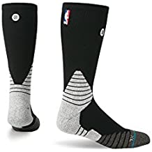 Stance NBA Black Solid Crew (size 6-8.5)
