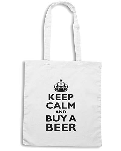 CALM KEEP Shopper BUY Speed AND A Borsa Bianca BEER0080 Shirt BEER wqAYYgxX