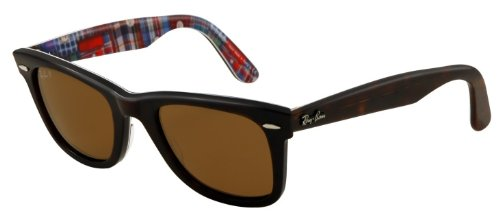 Ray-Ban 0RB2140113257 Original Wayfarer Sunglasses, Top Havana on Patchwork, - Spectacles Ray Ban Wayfarer
