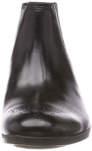 Gilmore Clarks Stivali Leather Chelsea Nero Uomo Black dwZ8wq