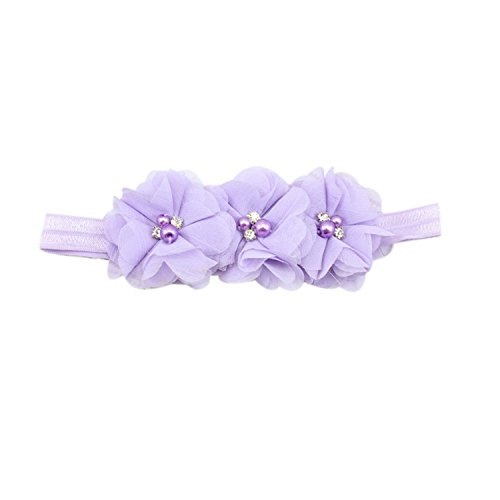 HOT SALE Girls Elastic Headbands Headband Photography Comfortablem purple for $<!--$15.75-->