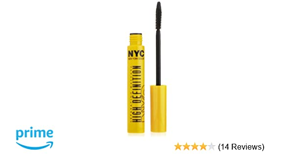 Amazon.com : New York Color Mascara High Definition Separating Mascara, Extreme Black, 0.27 Fluid Ounce : Beauty