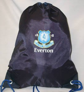 OFFICIAL EVERTON F.C. CREST GYM BAG by Everton F.C.