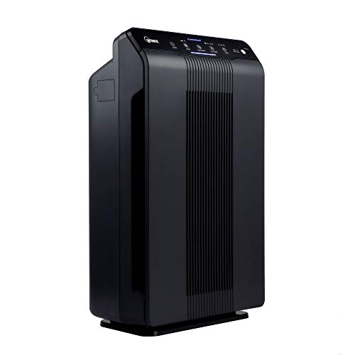 Winix 5500-2 Air Purifier with True HEPA, PlasmaWave and Odor Reducing Washable AOC Carbon Filter (Renewed)