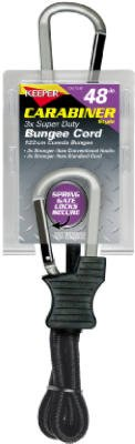 """Keeper 06158 48"""" Carabiner Style Bungee Cord"""