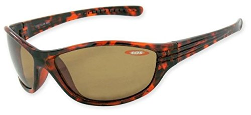 Sos Polar Max / Kauai Sunglasses, Frame - Shiny Dark Tortoise, Lens - Tac Polarized Brown - Sunglasses Sos