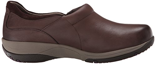 Dansko Womens Celeste Leather Flat Brown Burnished Nubuck f16koeJ